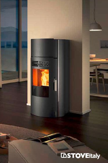 tondo plus stove italy serpolet bidaud. Black Bedroom Furniture Sets. Home Design Ideas